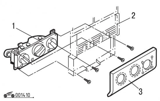 Как снять панель приборов на пассат б3 187