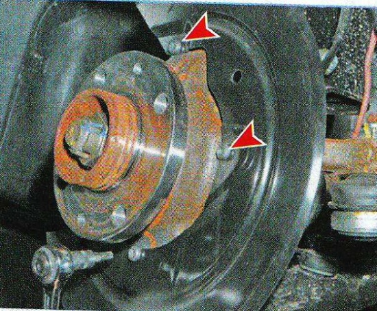 Как поменять тормозные диски на рено логан
