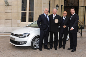 38 представителей влиятельных СМИ Франции назвали Председателя Правления Volkswagen AG Мартина Винтеркорна Человеком года 2008.