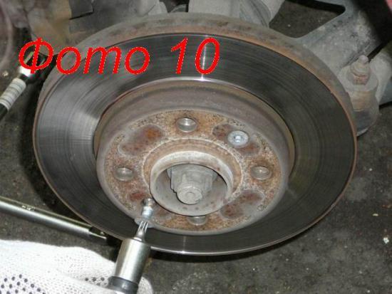 замена тормозных дисков renault symbol фотоотчет