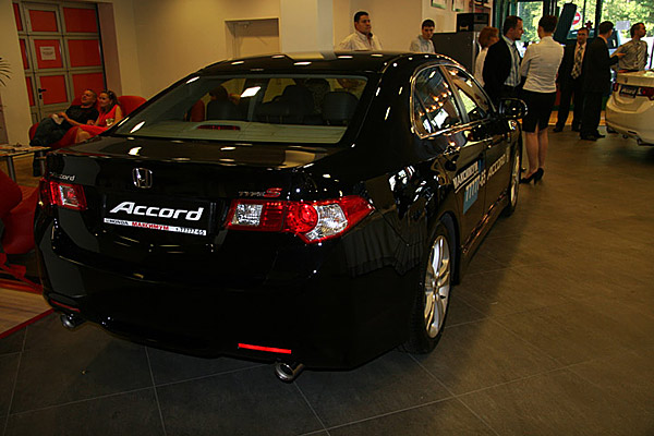 Презентация Honda Accord 8 - фото 11
