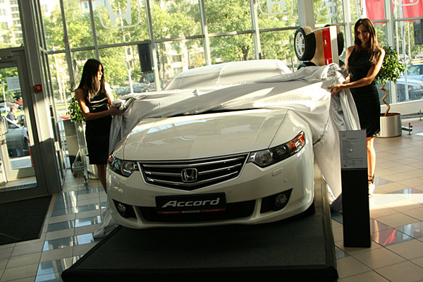 Презентация Honda Accord 8 - фото 16