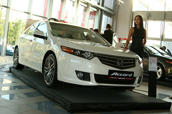 Презентация Honda Accord 8 - фото 20