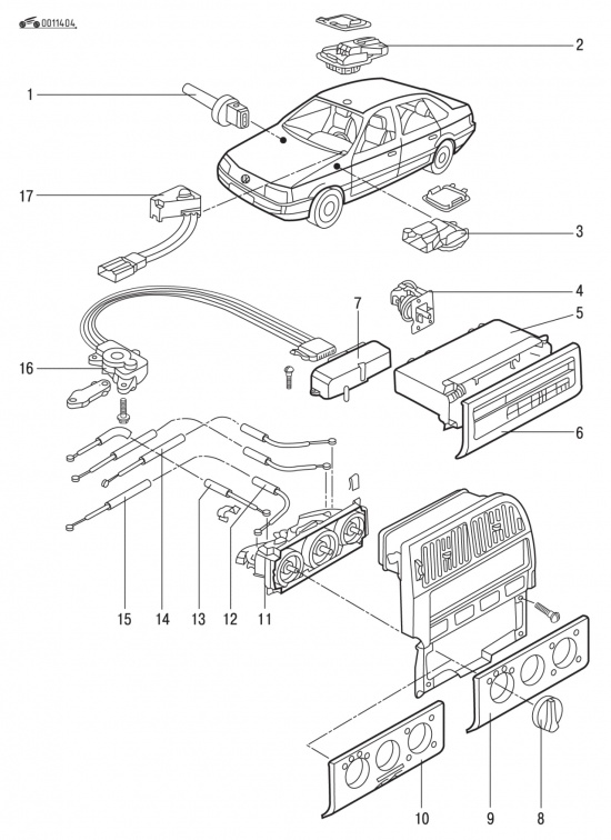 Система отопления в фольксваген 3