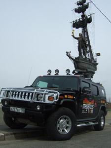 HUMMER H2 стал радиоведущим