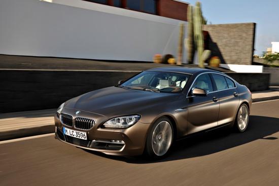 BMW показали новую 6-series Gran Coupe