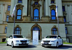 На автомобилях Skoda Superb будут ездить крупнейшие европейский сановники.