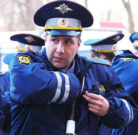 Московского гаишника посадили за взятку