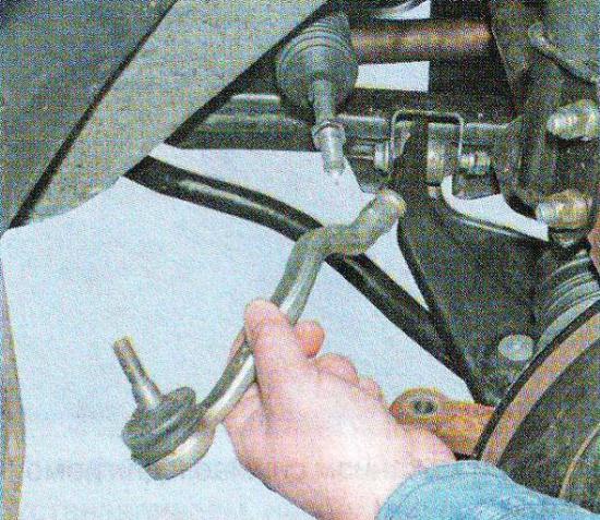 Замена рулевых тяг на рено