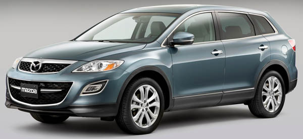 Mazda покажет обновленный CX-9