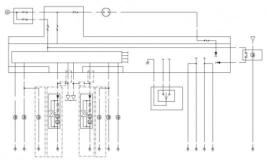 Jazz II Электрическая схема