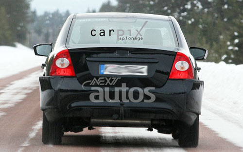 Ford Focus нового поколения в старом кузове