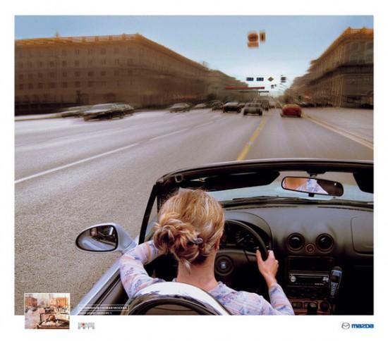 Mazda преподала урок рекламного искусства