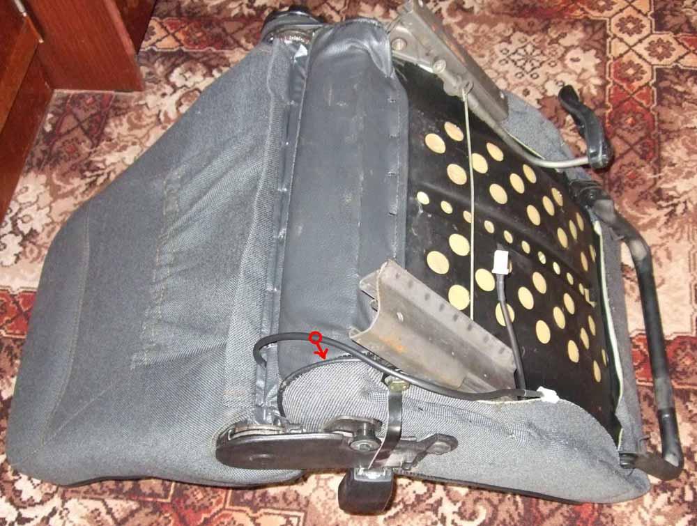 Электрическая схема обогрева сидений