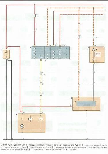 Matiz II Принципиальная схема