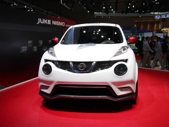 Заряженный Nissan Juke - премьера в Токио