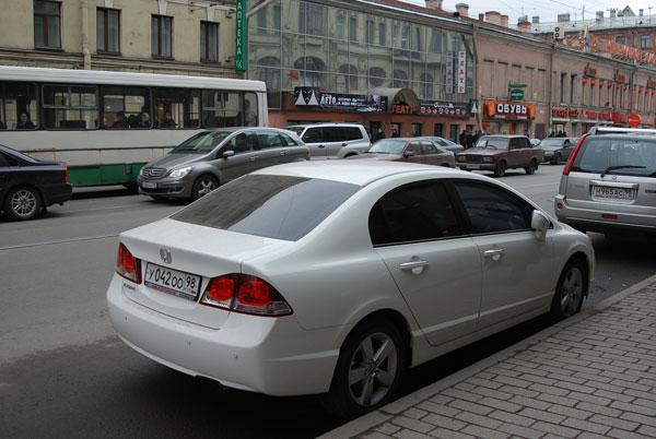 Автомобили на наших дорогах