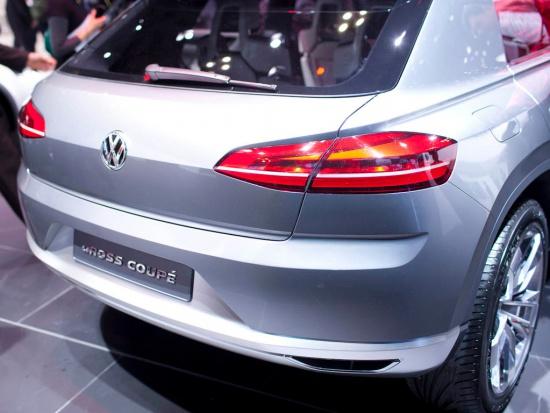Токио 2011: Volkswagen показал спорт-внедорожное купе Cross Coupe