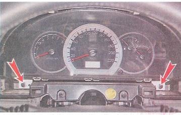Как снять щиток приборов — Chevrolet Lacetti, клуб Chevrolet Lacetti