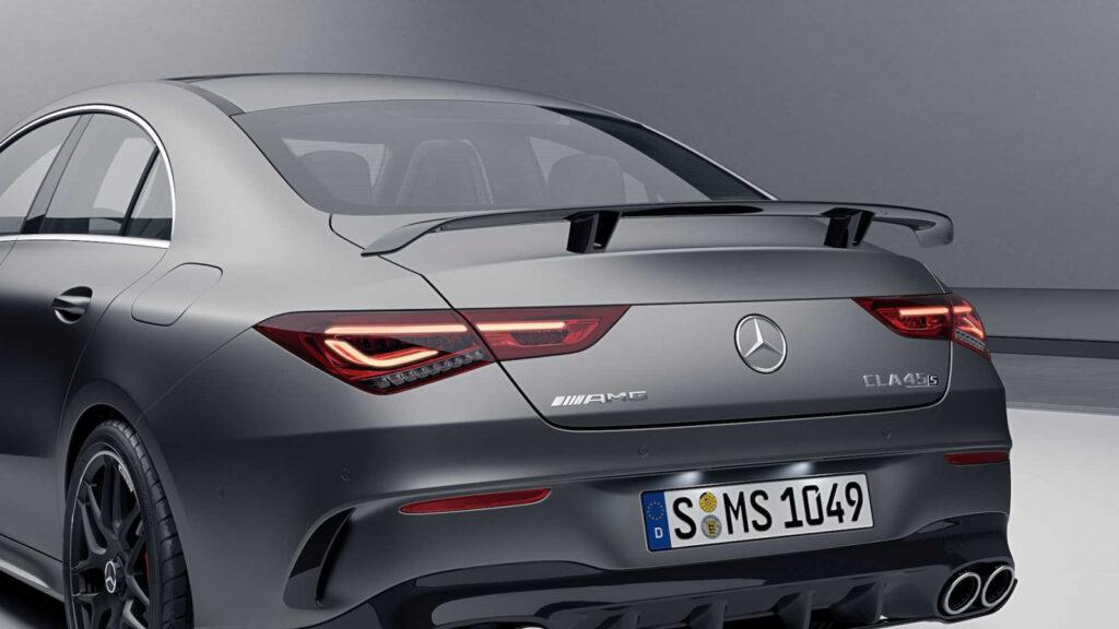 Mercedes-AMG выпустил аэродинамический обвес для CLA 35 и CLA 45