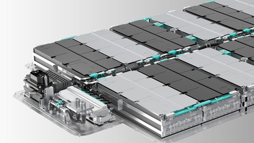 Батарея NIO на 100 киловатт/час