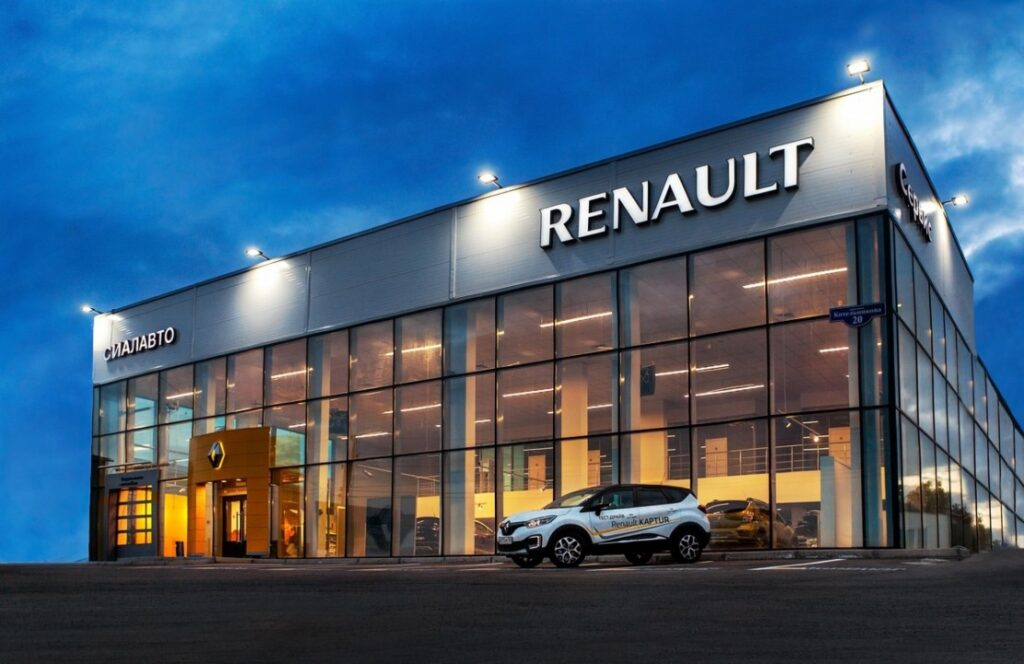 Дилерский центр Renault