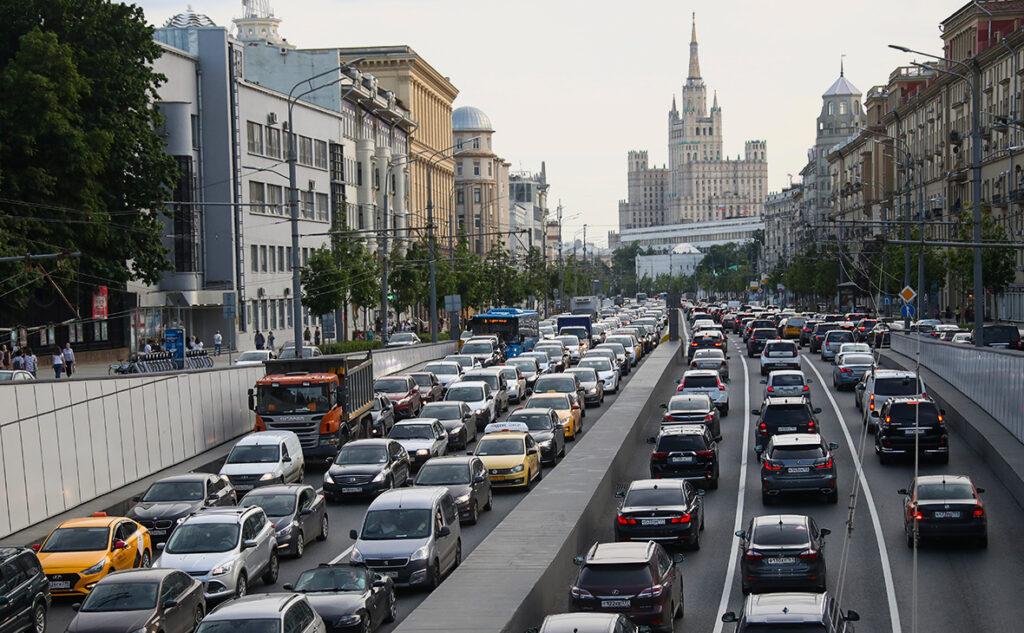 Дороги в Москве