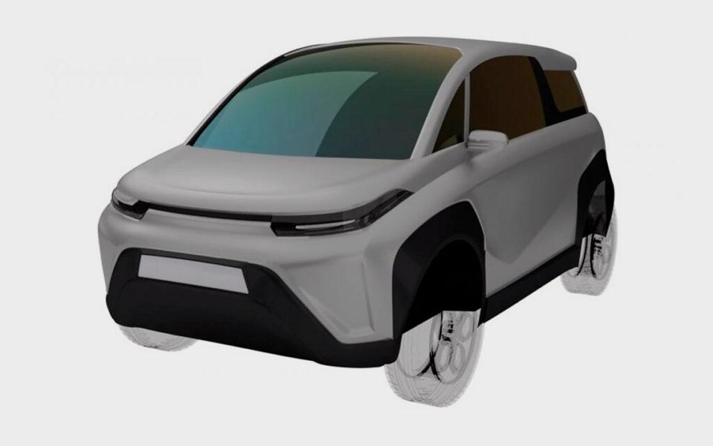 Машину уже успели запатентовать, а в открытой базе ФИПС появились эскизы новой модели