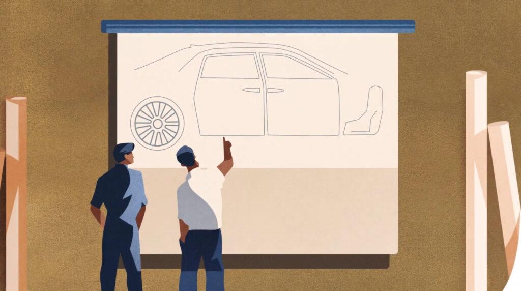 Но ради избегания абсолютной тишины, инженеры предусмотрели возможность автомобиля издавать свой звук