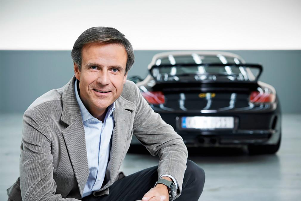Главный дизайнер Porsche Михаэль Мауэр
