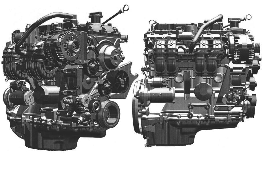 Новый атмосферный 2,5-литровый двигатель