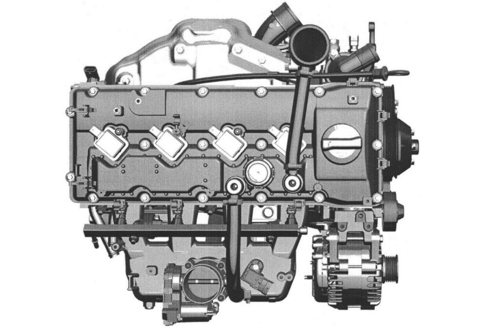 Новый турбомотор 2.3.