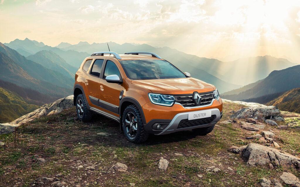 Обновленный Renault Duster, вид спереди