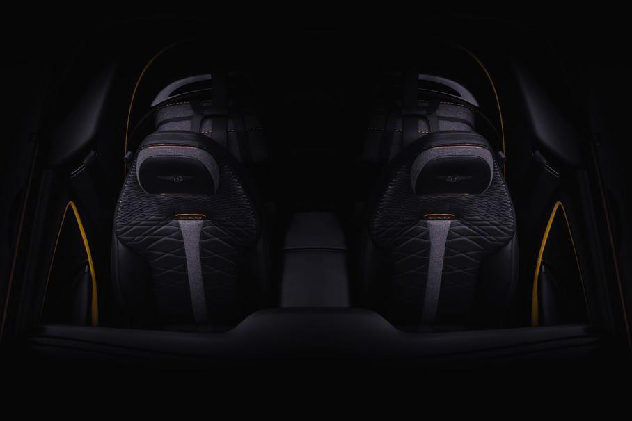 Bacalar получит черно-серую обивку салона с желтыми элементами и стильную прострочку сидений