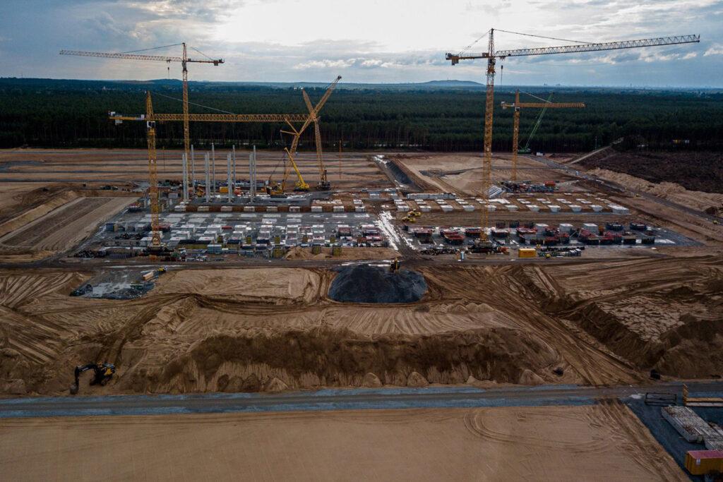 Строительство завода Tesla в Германии
