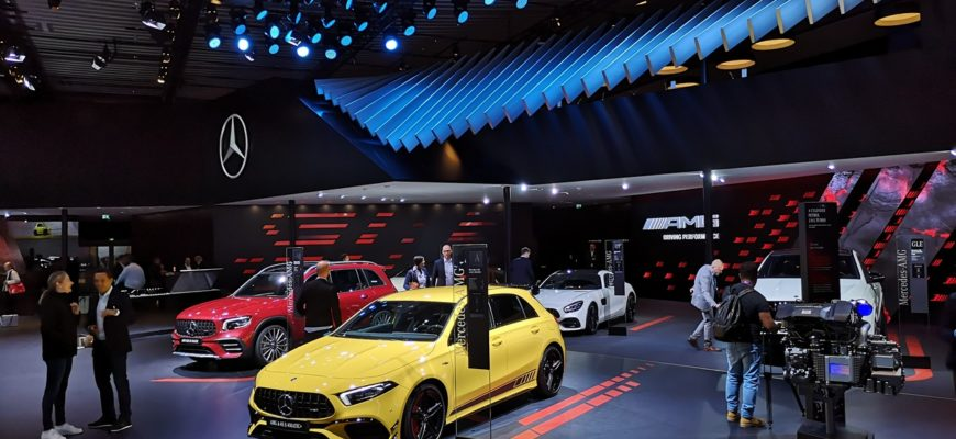 Новым местом проведения Франкфуртского автосалона станет Мюнхен