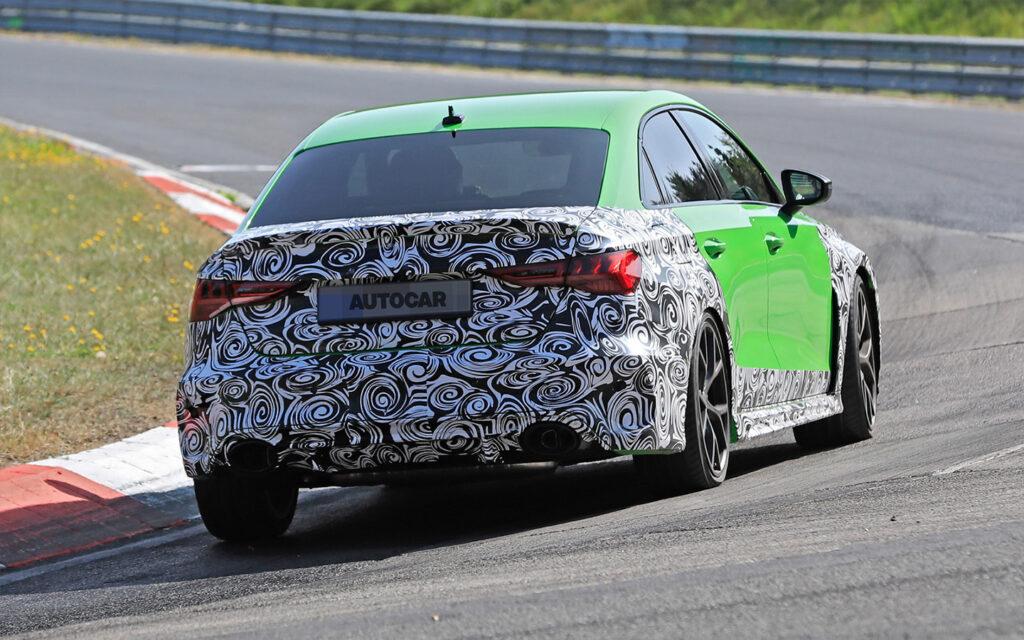 Шпионские снимки Audi RS3