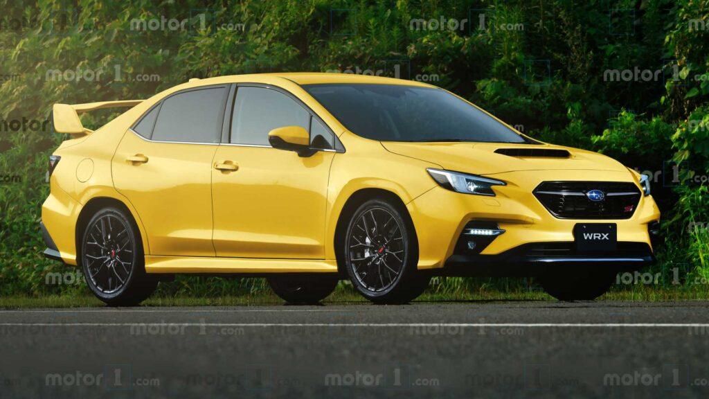 Рендеры нового Subaru WRX