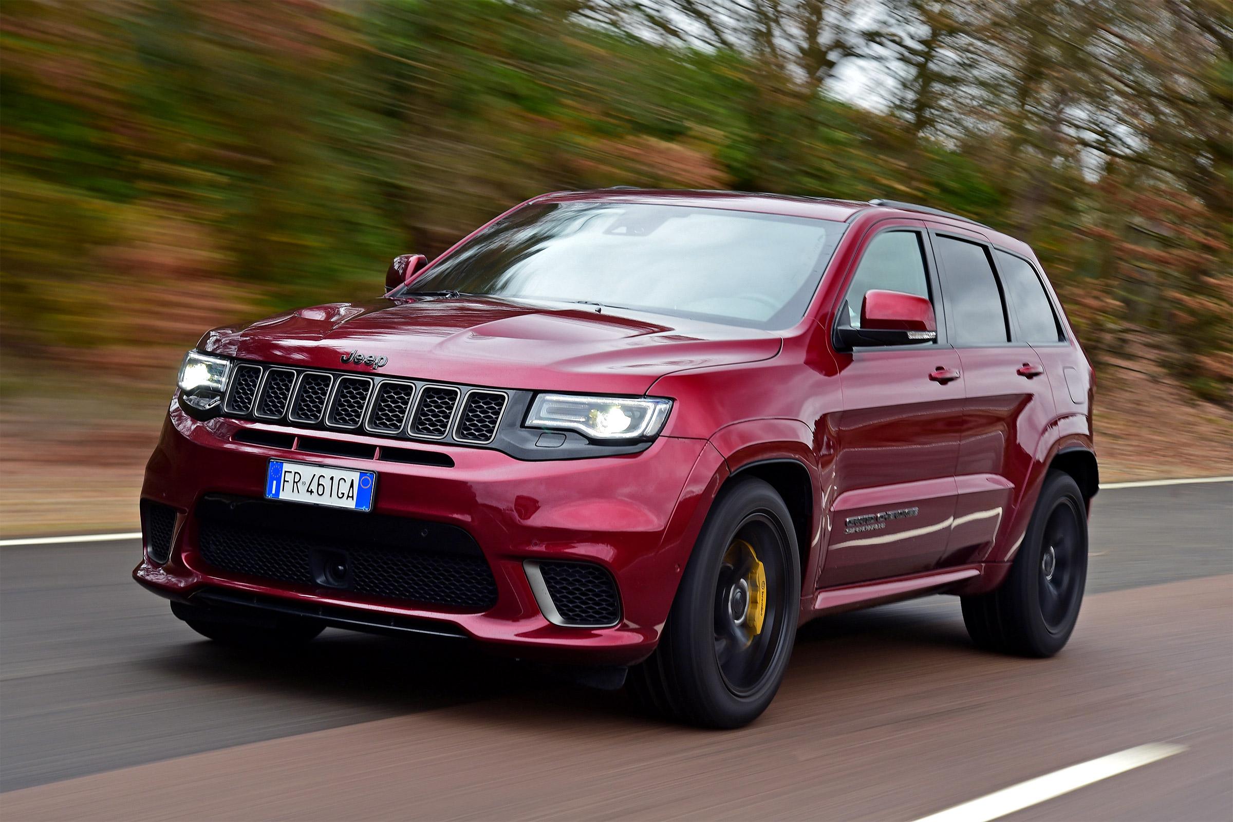 Отзывная компания по Jeep Cherokee объявлена в РФ