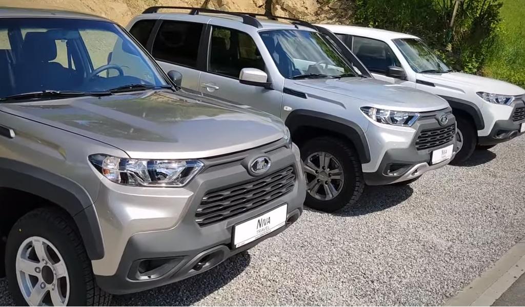 В Словакии начались продажи Lada Niva Travel
