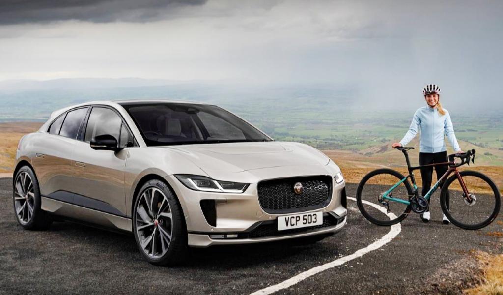 Jaguar I-Pace поучаствовал в «Эверестинге» с олимпийской чемпионской