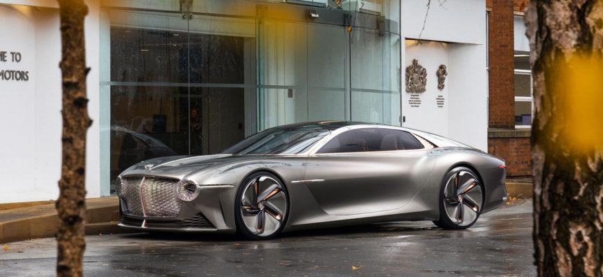 Bentley опубликовал нового двухместного автомобиля