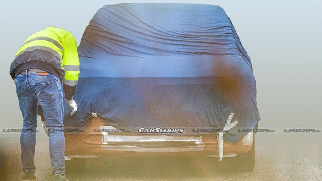 Прототип нового Ford на базе платформы VW
