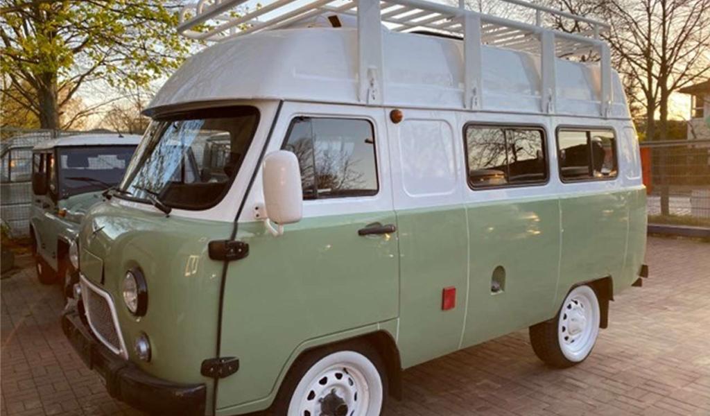 В Германии продают хорошо оборудованную УАЗ «Буханку» за 35 тысяч евро