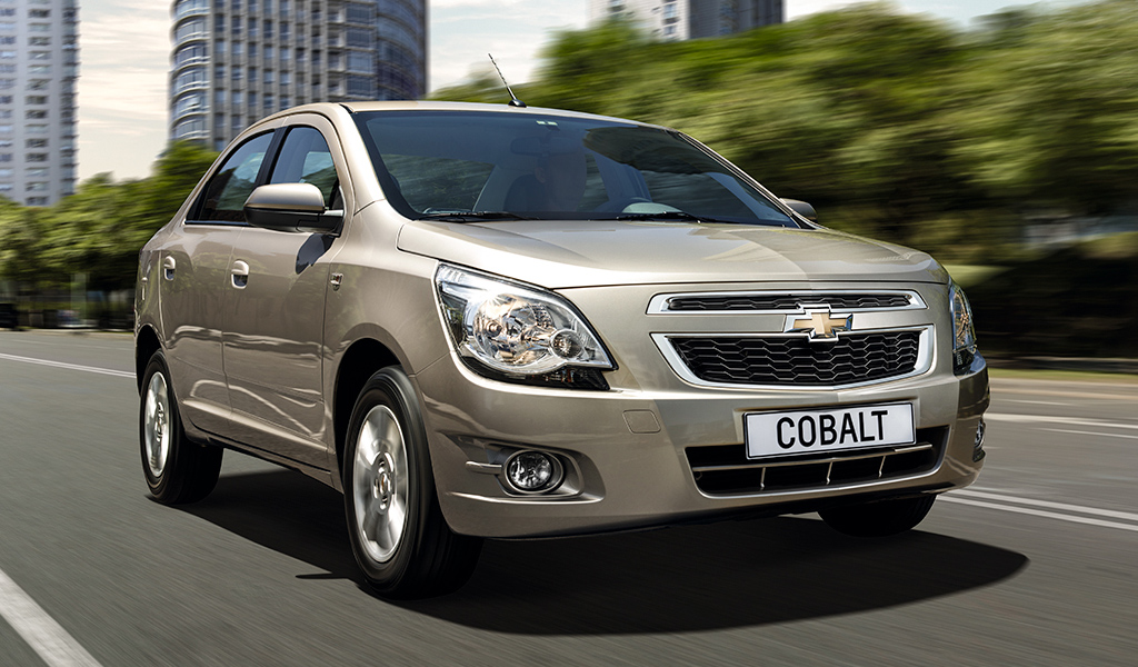 Chevrolet Cobalt стал самым продаваемым автомобилем в Казахстане