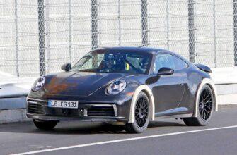 Porsche 911 точно обзаведется модификацией с большим клиренсом