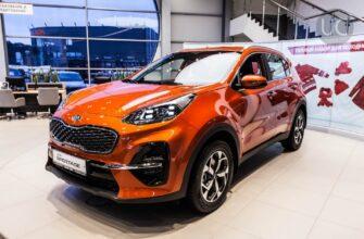 Обновленный Kia Sportage появится только в 2021 году