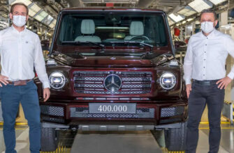 Компания Mercedes-Benz произвела юбилейный 400-тысячный экземпляр Гелендвагена