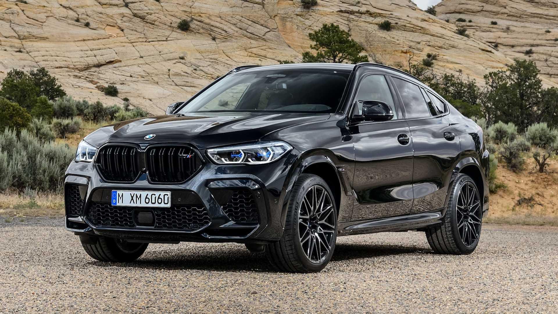 Спойлеры у новых BMW X6 оказались не качественными