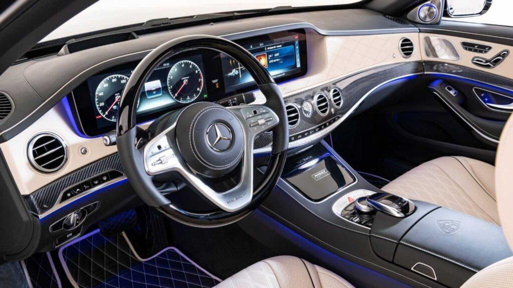 Салон Mercedes-Maybach S 650